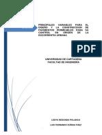 Monografia Principales Variables Para El Diseño de Pavimentos Permeables Udc.