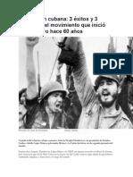 Exitos y Fracasos Revolucion de Castro