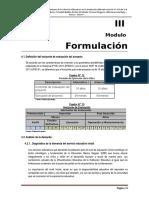 Modulo III Formulacion y Evaluacion