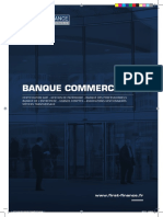 Catalogue Banque commerciale First Finance