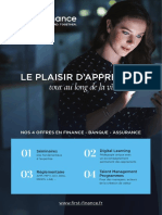 Plaquette First Finance 2019