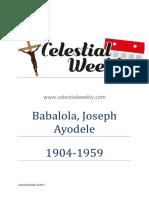 Babalola Joseph Ayodele