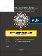 Resolución Del Examen