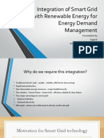 Integration of Smart Grid With Renewable Energy