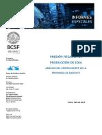 Presion Fiscal en La Produccion de Soja