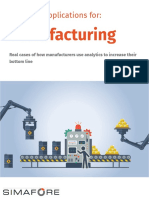 Analytics Application for Manufacturing- Big Data
