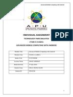 AMCA Individual Assignment-Book4Sport