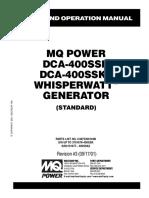 DCA400SSK Rev 3 Std Manual