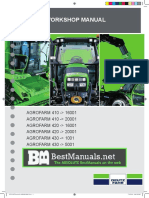 Deutz Fahr Agrofarm 410 420 430 Tractor Shop Service Repair Manual