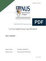 Rf Lab Report