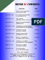 2019 xc schedule revised  1