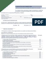 Formulario Seguro Tarjeta Debito