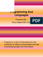 Programming And Languages.ppt