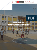 Manual Mantenimiento 2019 Instituciones Educativas