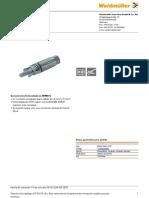 Conector BUGH_WM4_C_BT Para Contacto Crimpado Hembra (1530690000)