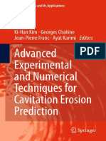 Advanced Experimental and Numerical Techniques for Cavitation-Erosion (Chahine 2014)