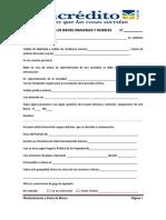 Formulario Oferta de Compra de Bienes Inmuebles 18052015