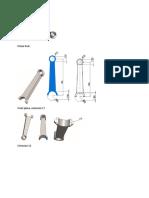 Diseño de biela (Piston Rod)