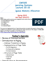 Lecture 20-22 (Memory II)