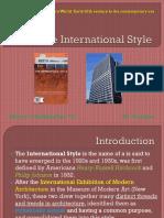 The International Style