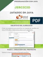 CPJ B Ejercicio JavaDoc
