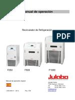 Julabo F1000 manual