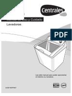 Manual de Lavadora Centrales