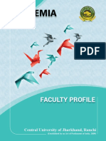 CUJ - Faculty Profile
