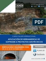 Aplicación de Software a Proyectos Geotécnicos