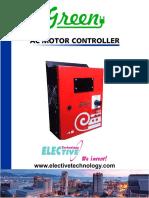 Green AC Motor Controller