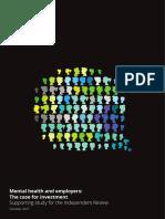 Deloitte Uk Mental Health Employers Monitor Deloitte Oct 2017