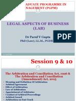 Session 9 & 10