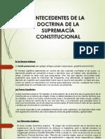 Principio de Supremacía Constitucional Guatemalteca