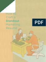 Making a Marketing Resume