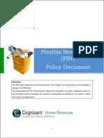 CTS Flexible Benefit Plan