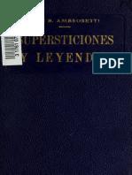 supersticiones noa argentino
