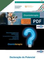 Ozonioterapia No Congrepics - 14 Março 2018 - Dra. Maria Emilia Gadelha Serra 190318
