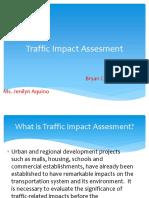 Traffic Impact Assesment