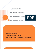 5f9908123b613fc3e118cbd41311ffcf e Banking Recent Trends in Indian Banking Sector