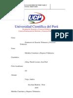 Medidas Cautelares y Los Reparoa Tributario Andrea Vega