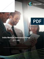 CTS India Medical Insurance Policy 2017 – 18