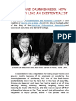 Being and Drunkenness- How to Party Like an Existentialist