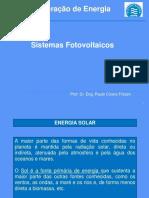 Geracao Eletrica Aula 5 Introducao Geracao Sistema Fotovoltaico P V