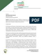 oficio  continuidad GESTORES