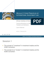 Int'l Investment Law