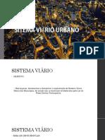 Sitema Viário Urbano