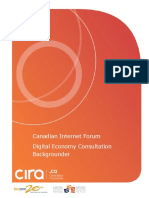 Canadian Internet Forum Digital Economy Backgrounder