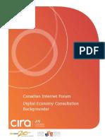 Canadian Internet Forum Digital Economy Backgrounder