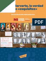 """El caso Narvarte """"La Verdad Como Exquisitez"""""""
