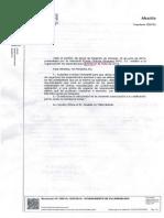 Resolución de Alcaldía de Villarrobledo autorizando la propuesta de Puerta Grande Granada 2012 S.L.